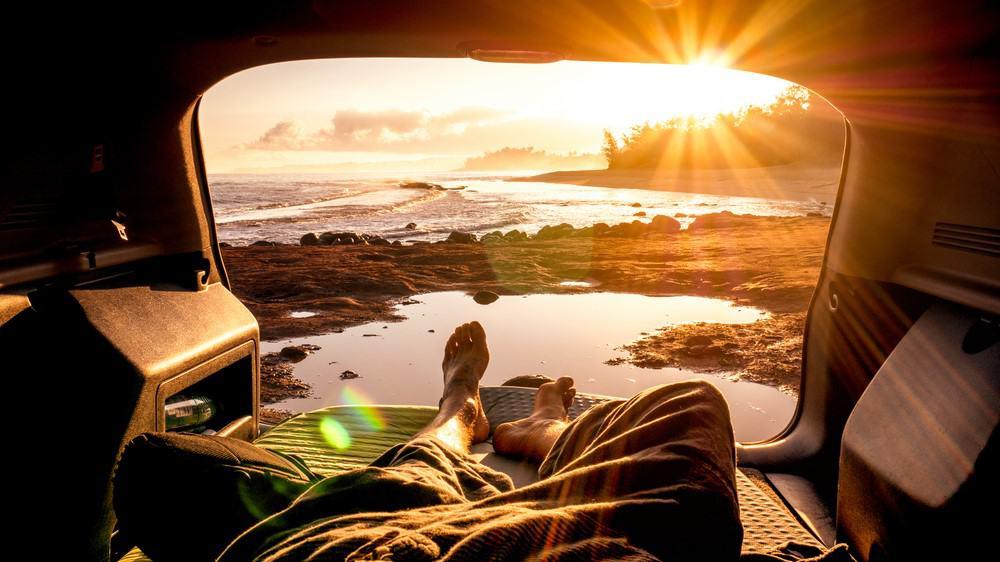 la libertad de viajar en camper
