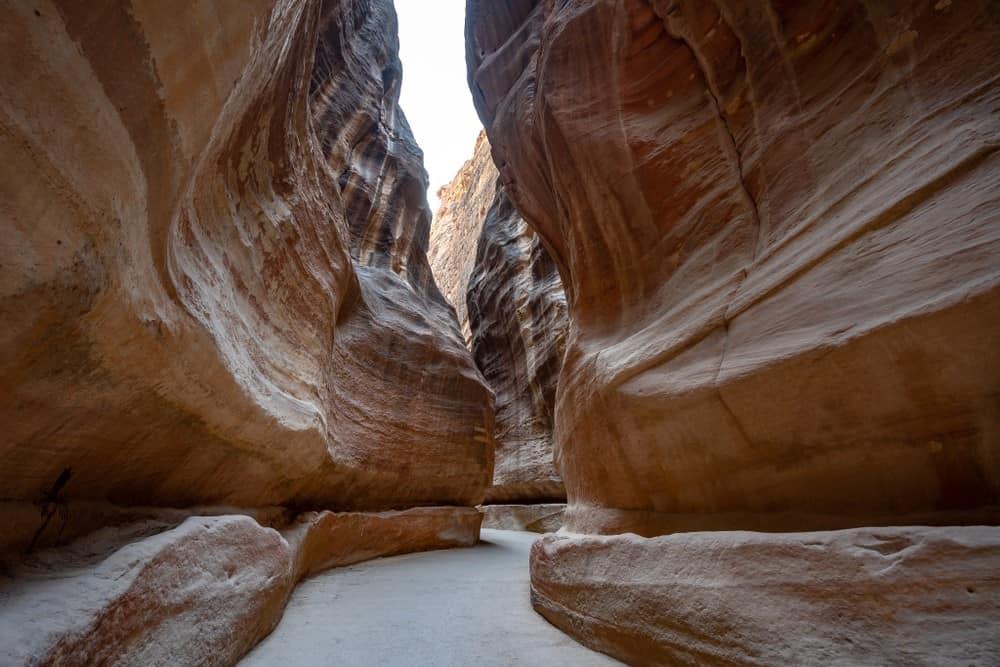 El Siq, Petra Jordania