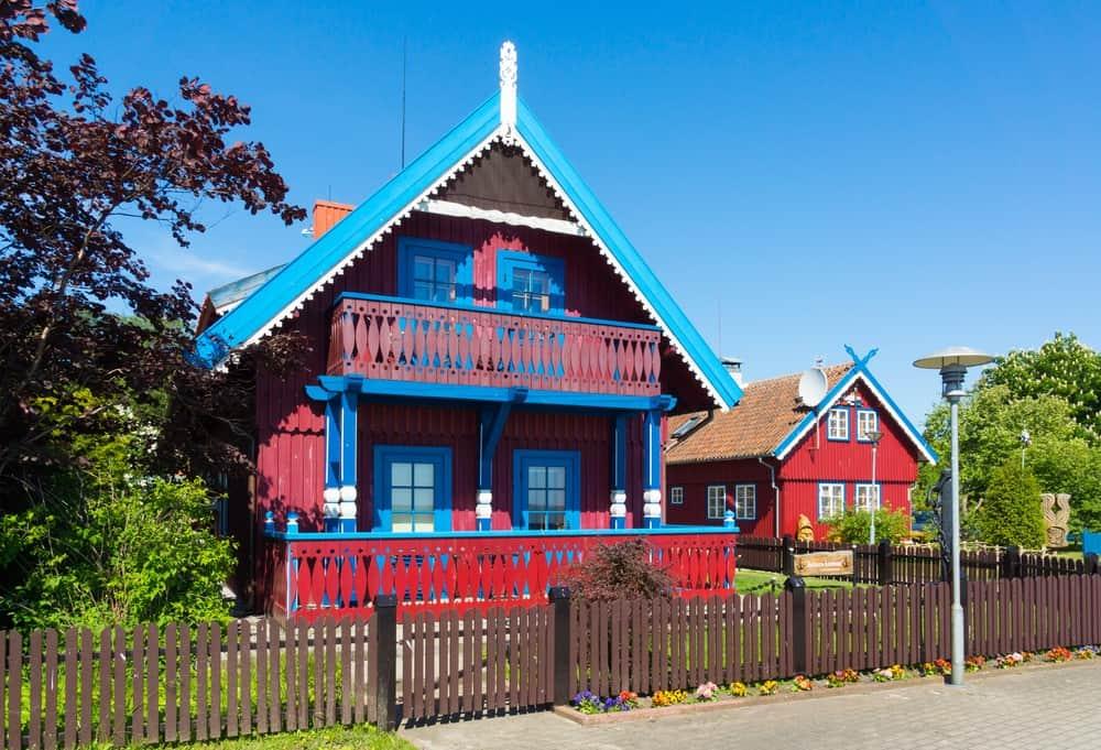 Istmo de Curlandia, Lituania