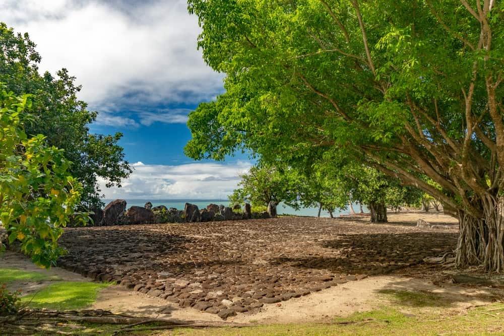Marae de Taputapuatea - Raiatea (Islas de la Sociedad)