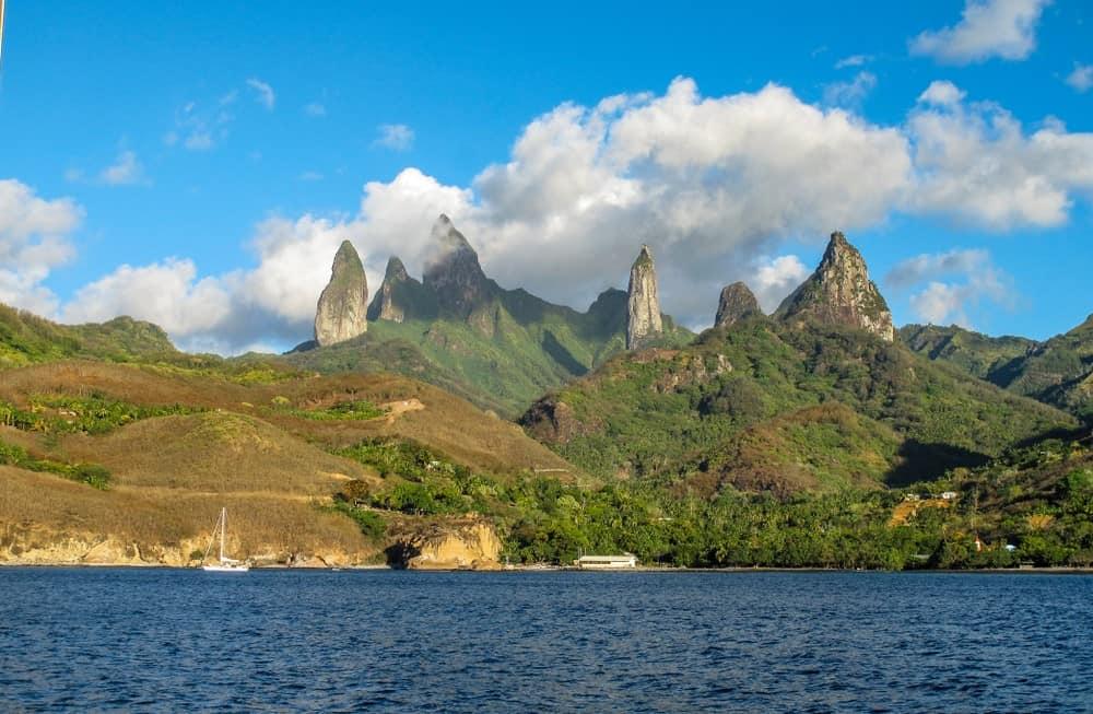 Columnas basálticas - Ua Pou (Islas Marquesas)