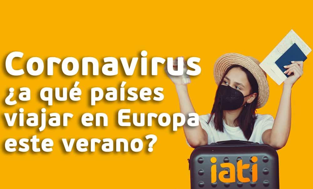 Coronavirus Viajar Europa
