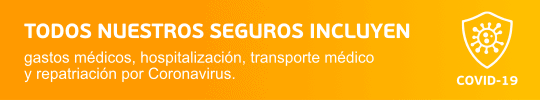 seguro viaje Europa Coronavirus