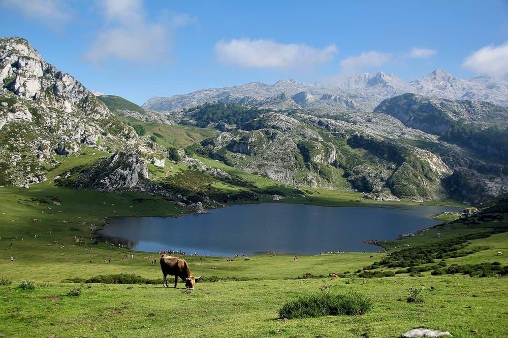 lagos de Asturias