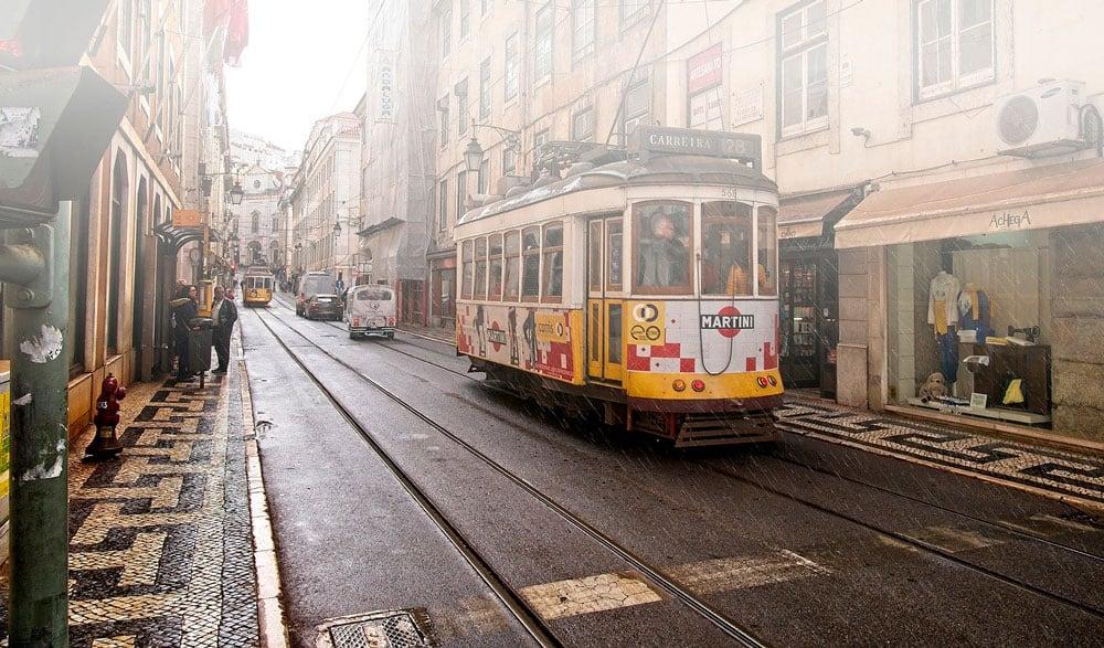 recorrer Lisboa en el tranvía amarillo
