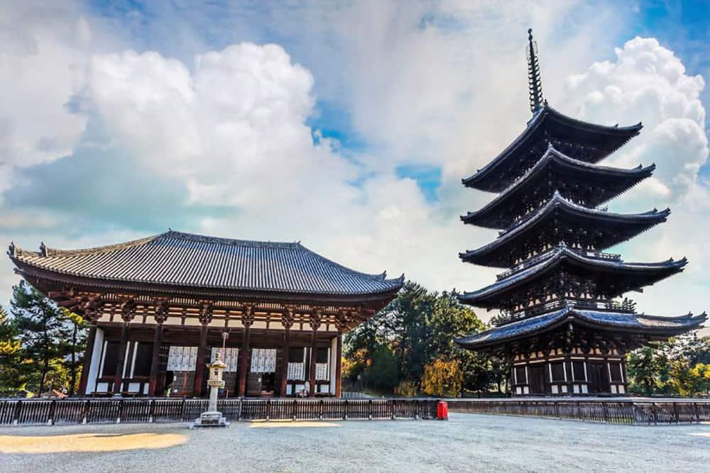 Pagoda del templo Kofukuji en Nara