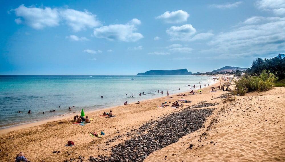 Playas de Porto Santo, isla cercana que ver en Madeira
