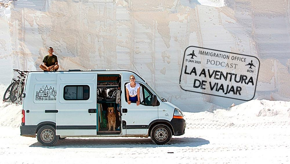 Podcast IATI: Viajar en furgoneta