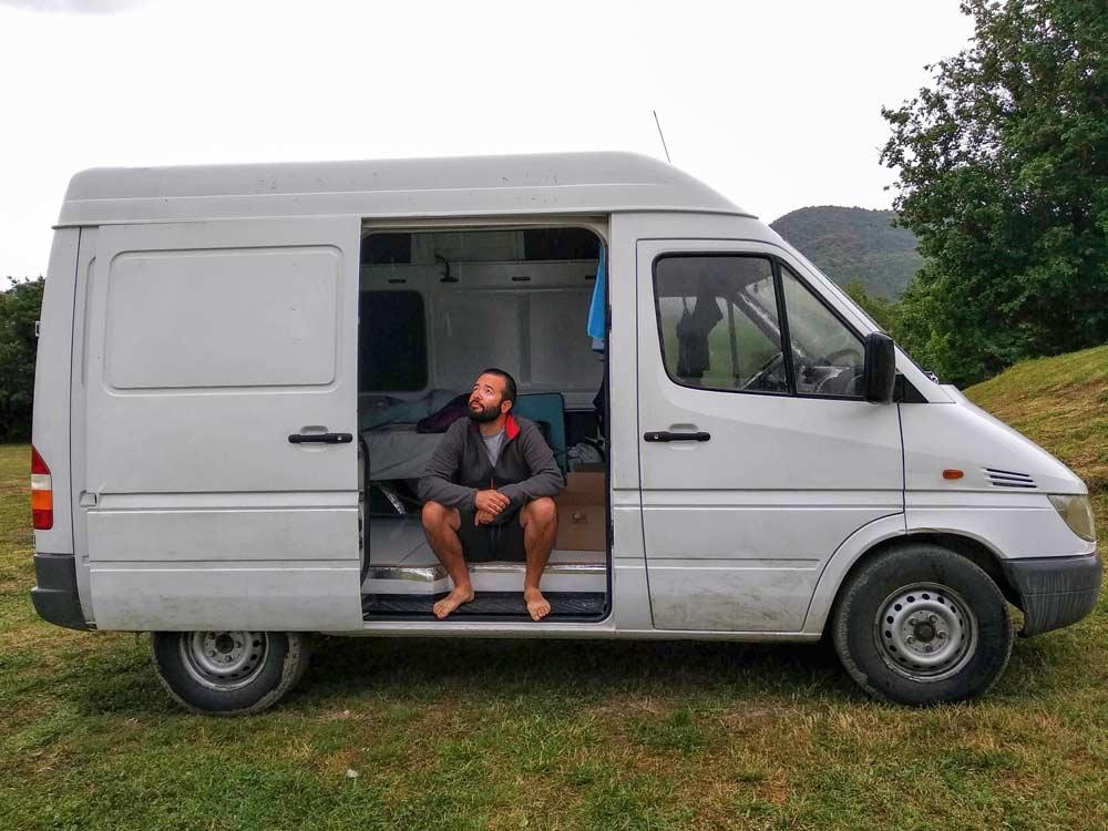podcast y viajes en camper