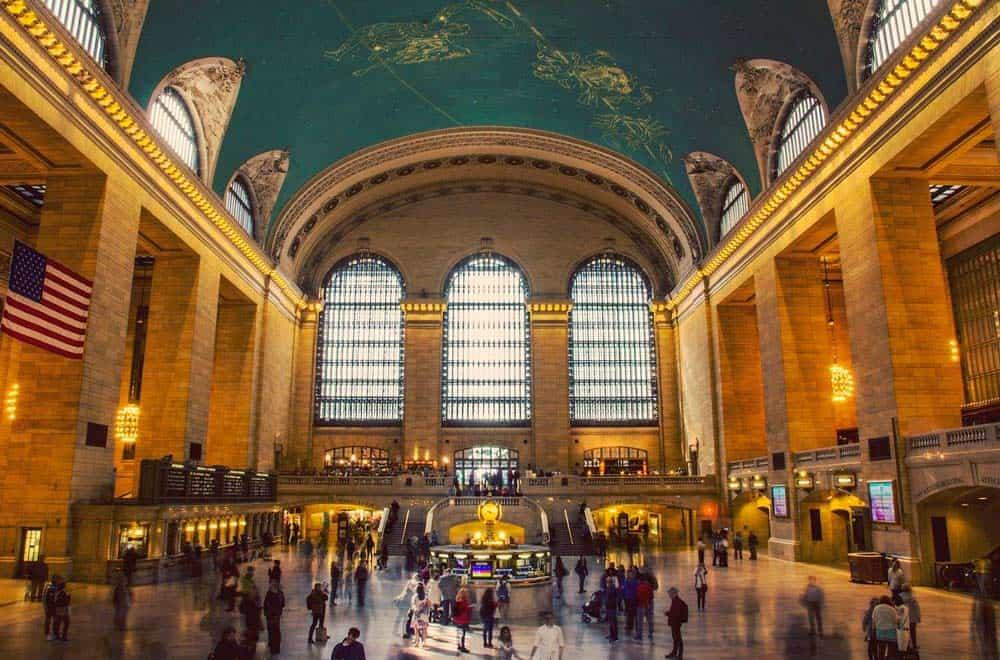 la espectacular Grand Central Terminal