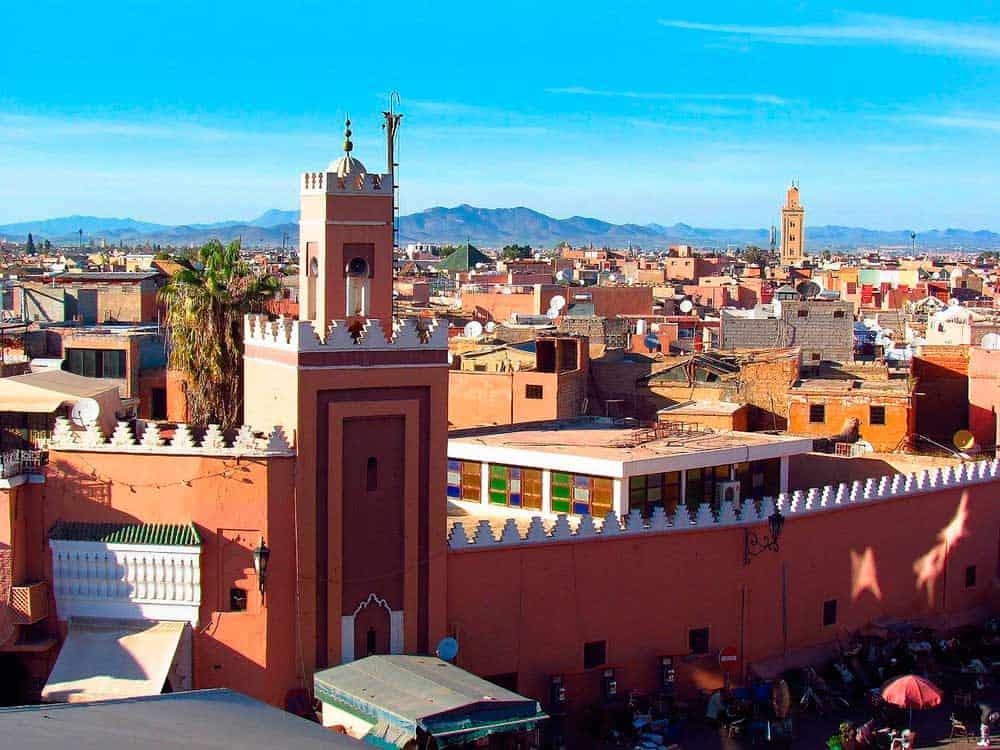 ruta de viaje a Marruecos