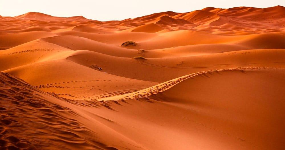 visitar el desierto de Marruecos