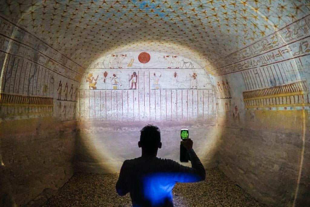 Viajes Chavetas: tumba El Kurru, Sudán