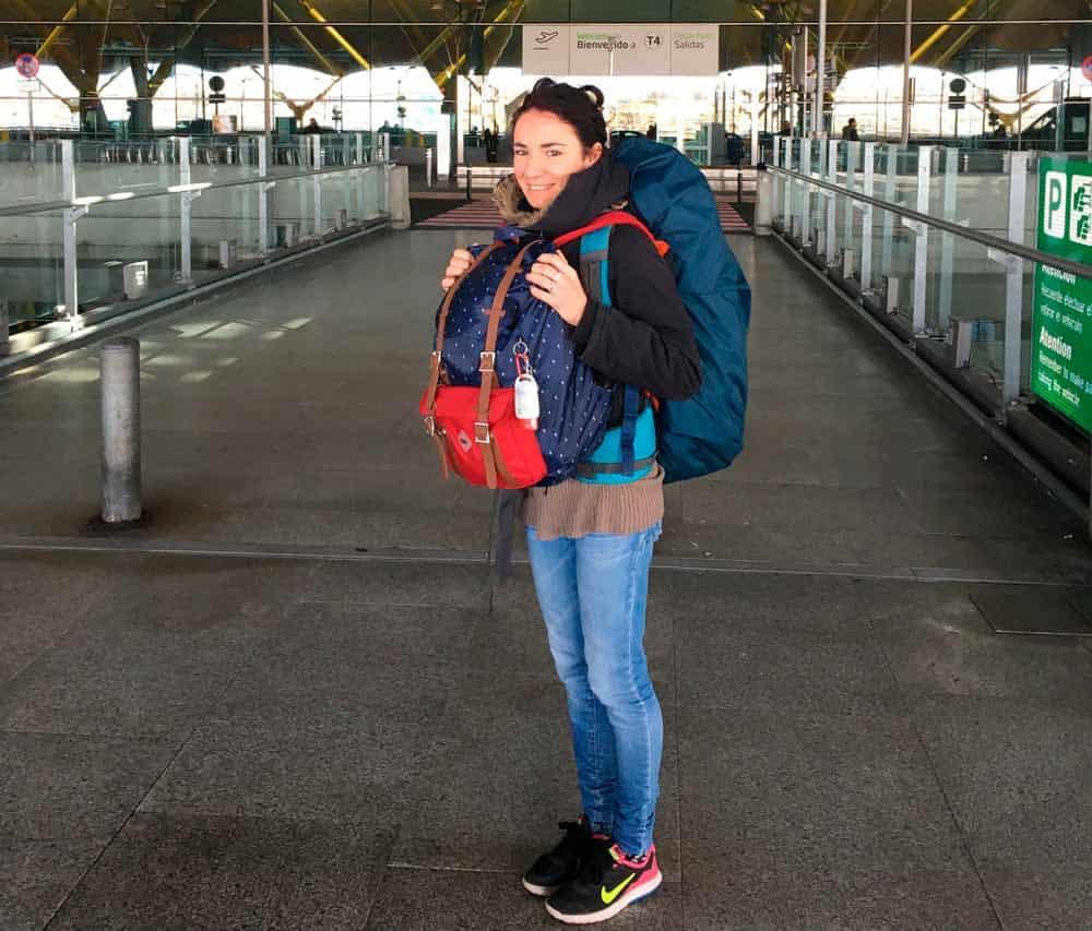 preparar equipaje para un gran viaje