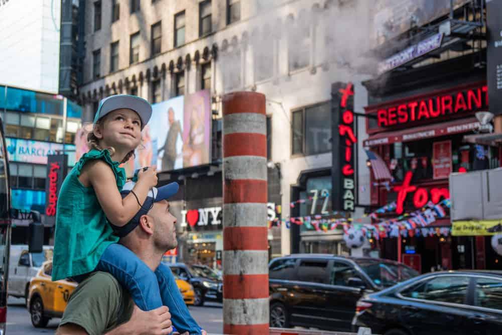 Adri y Daniela de Molaviajar paseando por Nueva York