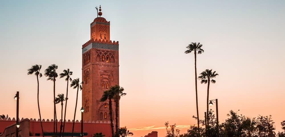 Mezquita Kutubía, Marrakech