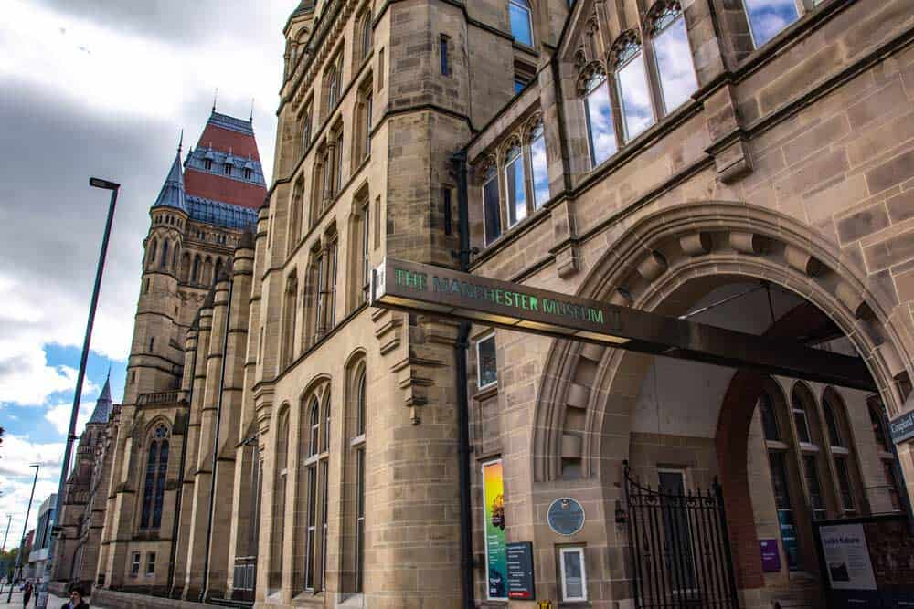 visitar la Universidad de Manchester