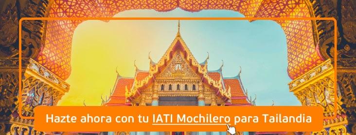 IATI Mochilero seguro para Tailandia