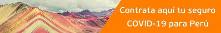 cobertura covid-19 para Perú