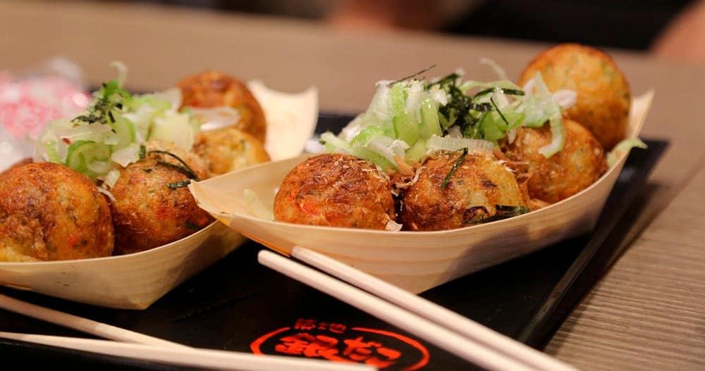 qué comer en Osaka