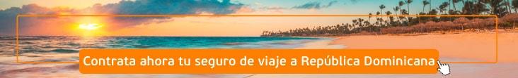 contratar seguro de viaje a República Dominicana