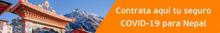 coberturas covid-19 para Nepal