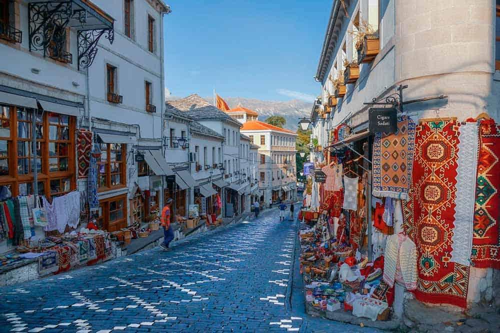 visado para Albania