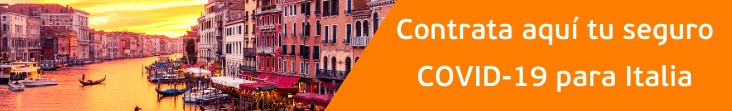 coberturas covid-19 para Italia