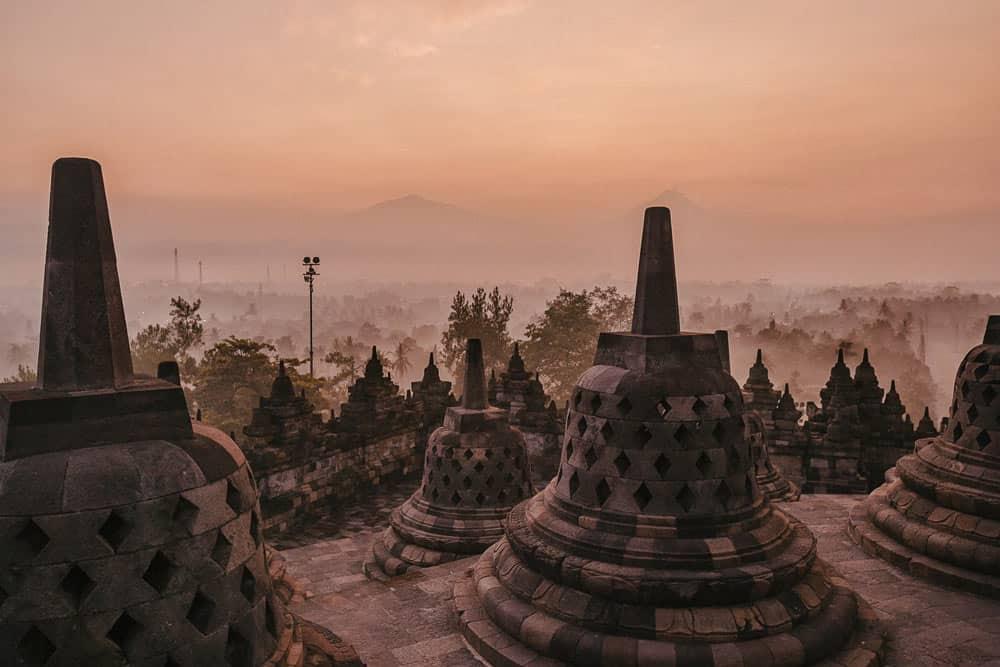 Borobudur, un imperdible que ver en Yogyakarta