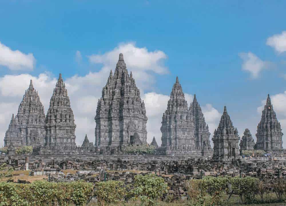 visitar los templos de Prambanan