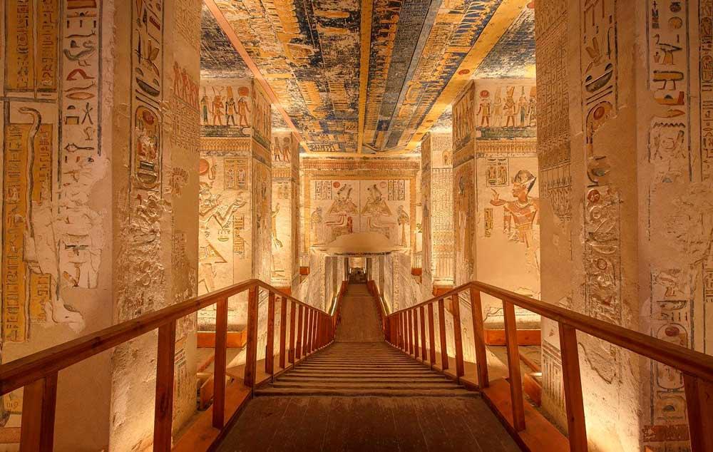 recorrido para viajar por Egipto