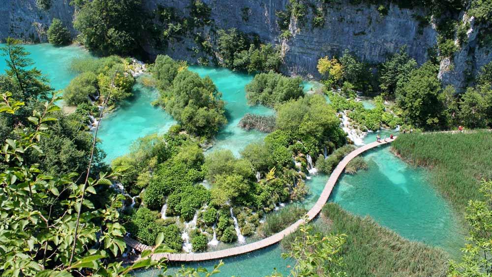 los Parques Nacionales de Croacia y sus cascadas