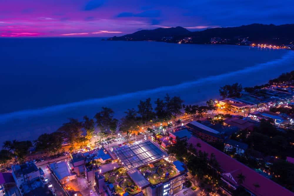 Salir de fiesta por Patong Beach