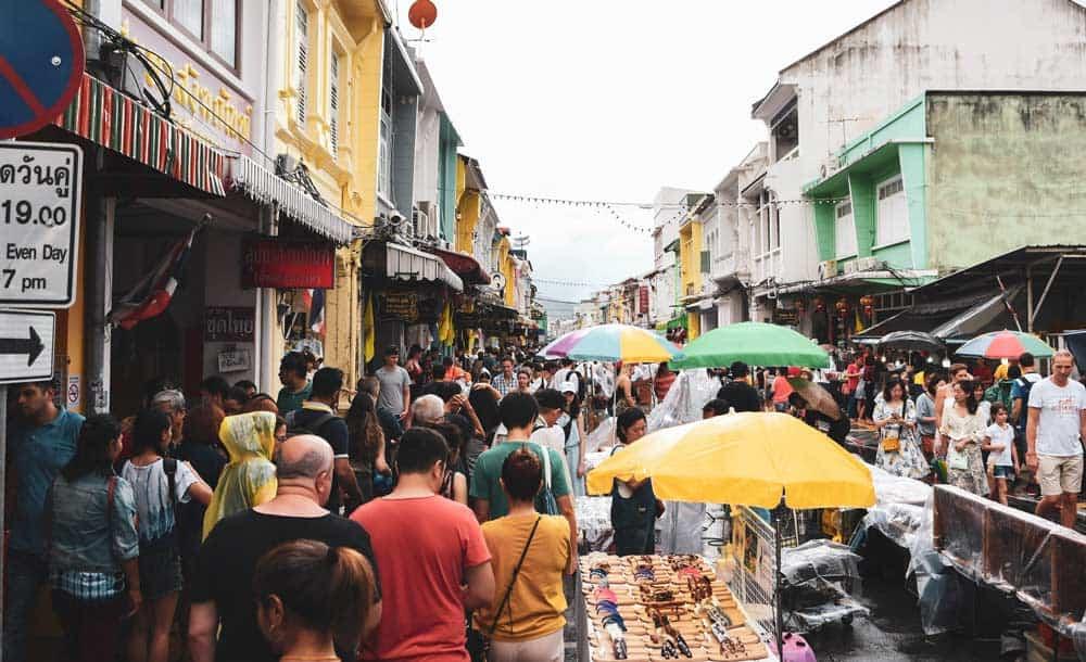 los mejores mercadillos de Phuket
