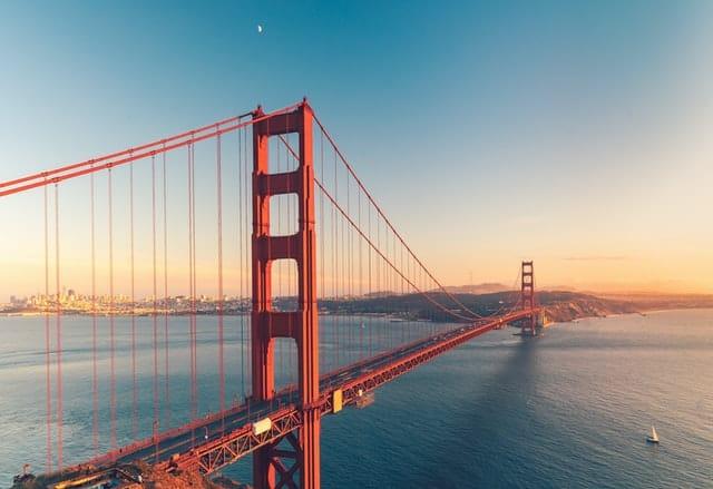 Ponte de sao francisco no Estados Unidos da América