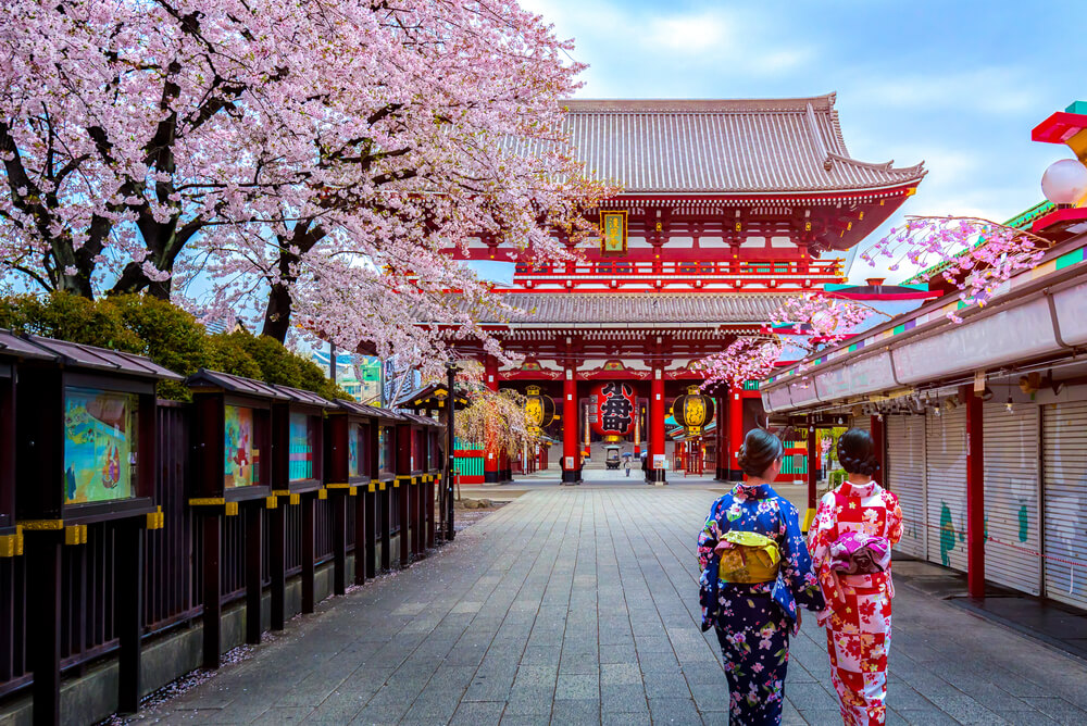 viajar sozinha pelo japao