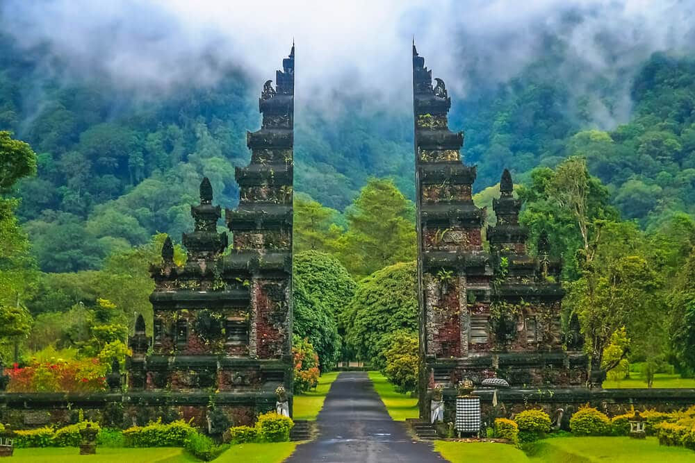 templo hindu em bali