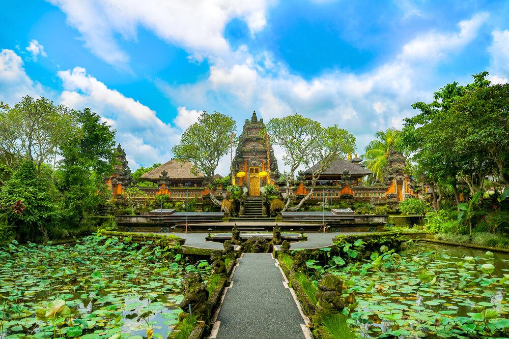 templo de taman saraswati em bali