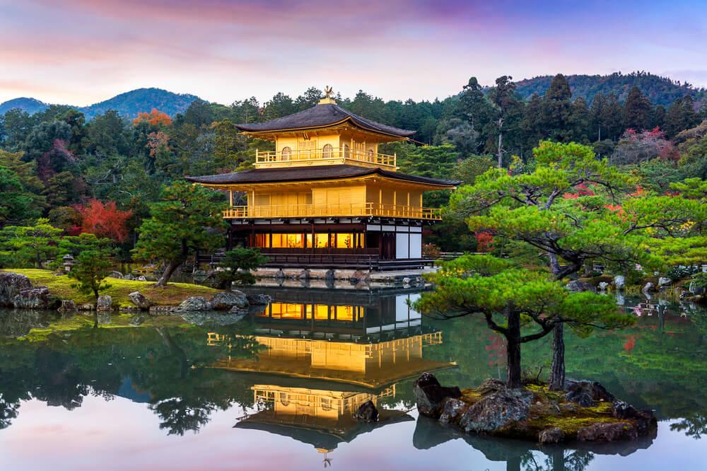 templo de kinkakuji em quioto