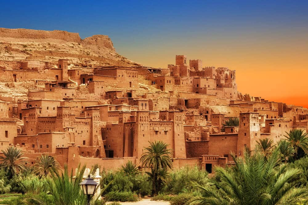 kasbah, povoaçao tipica marroquina