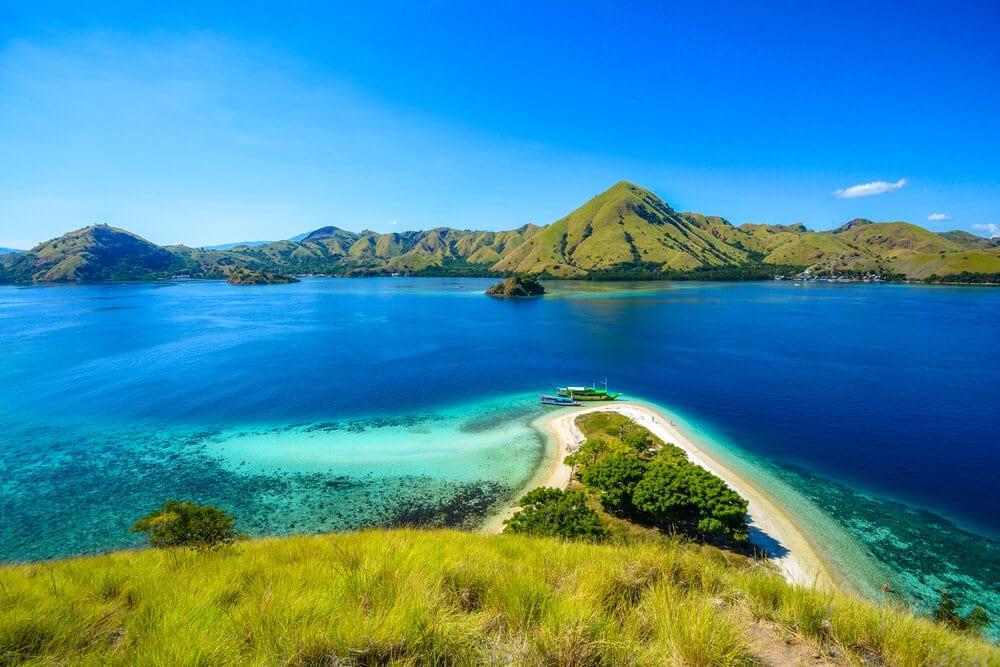 panoramica aerea da ilha de kelor