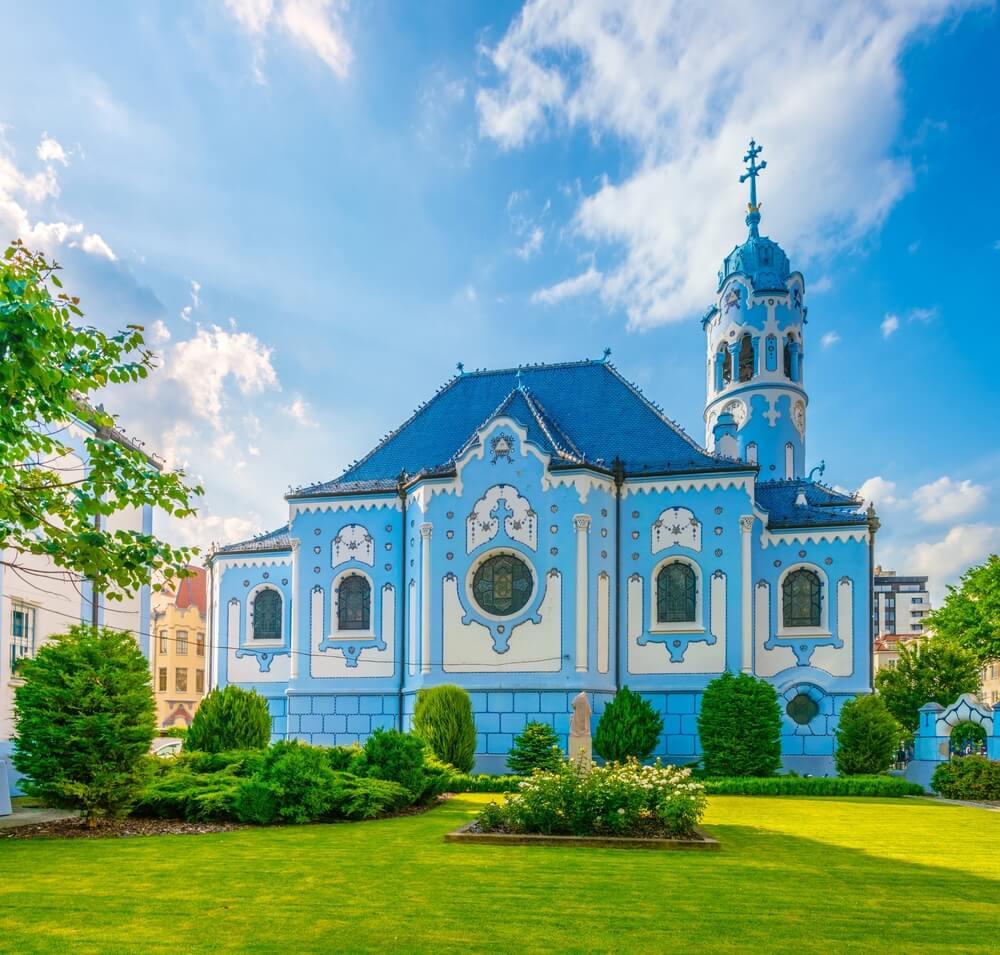 igreja azul de bratislava