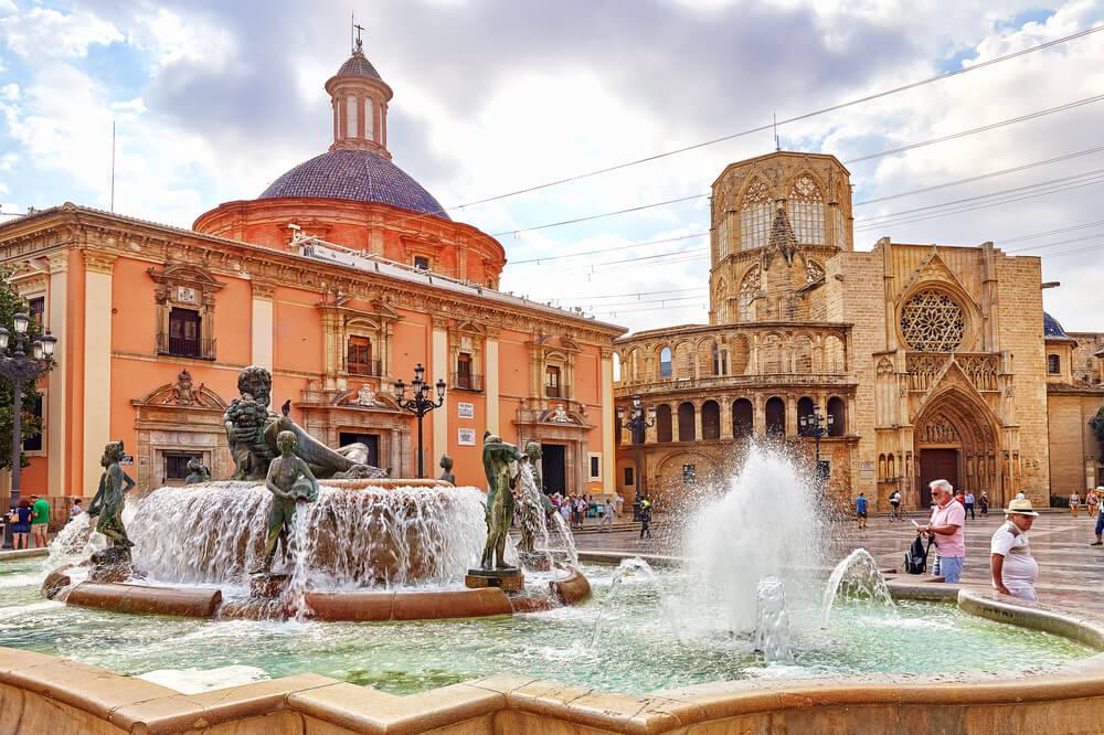 centro historico e catedral de valencia