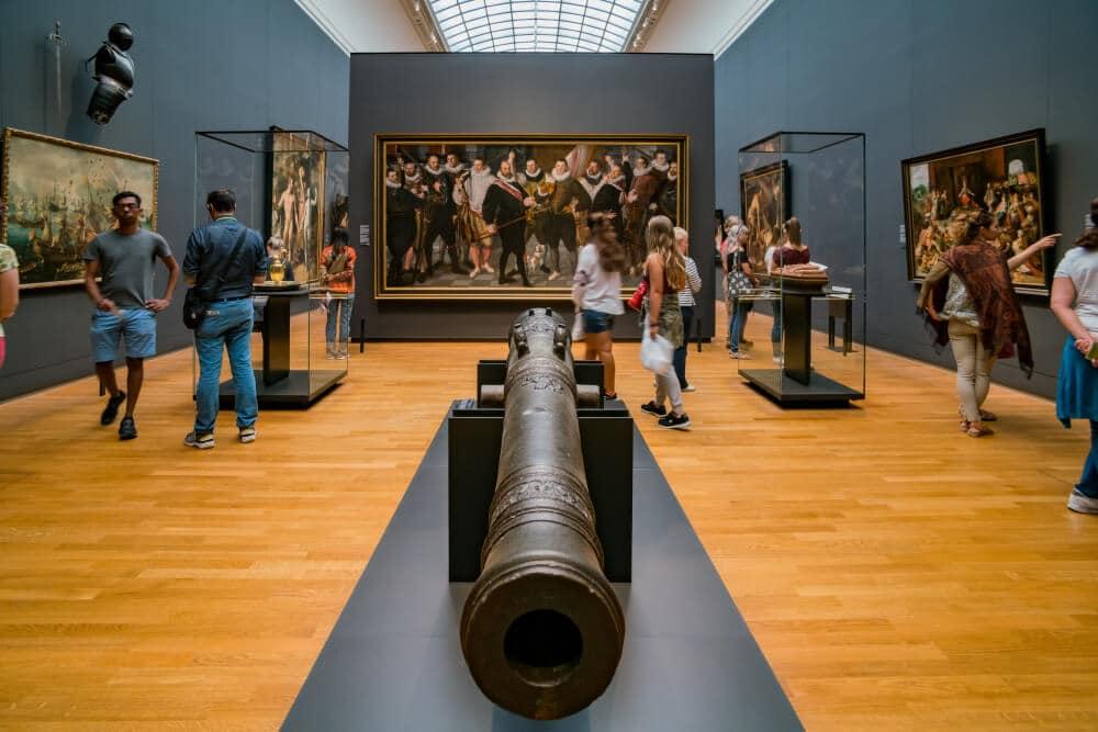 uma das salas do Rijksmuseum
