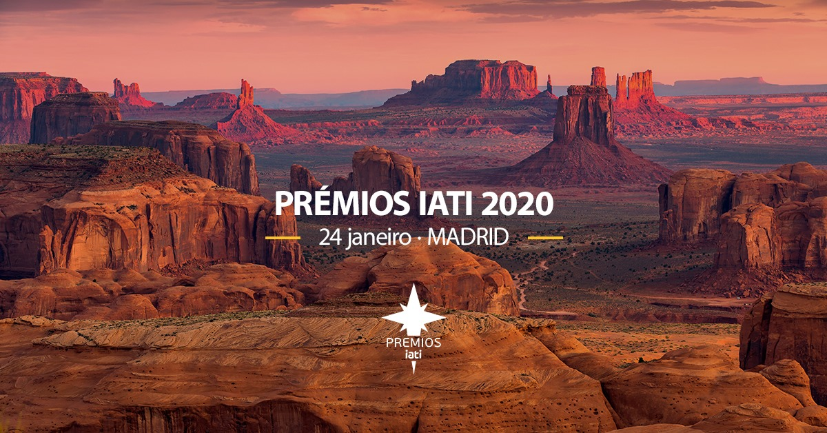 grand canyon con informaçao sobre os premios iati 2020