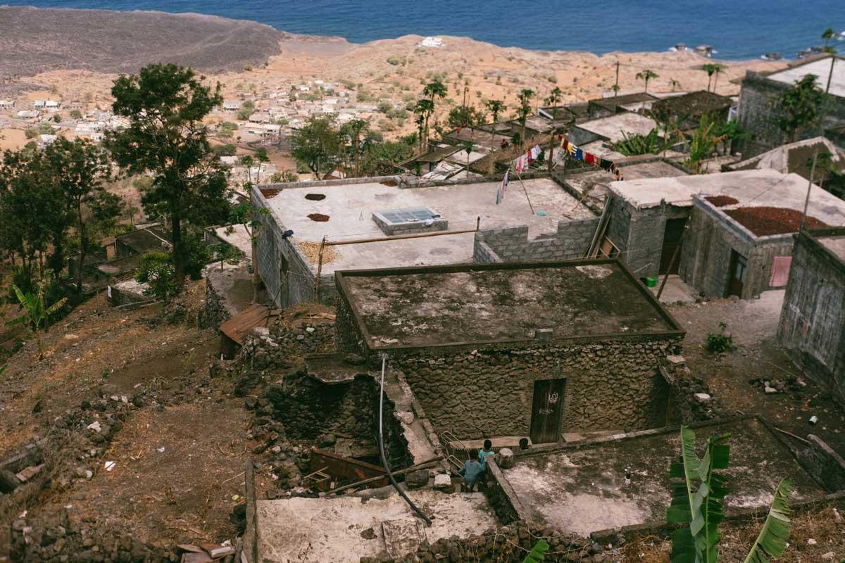 panoramica ilha do fogo cabo verde