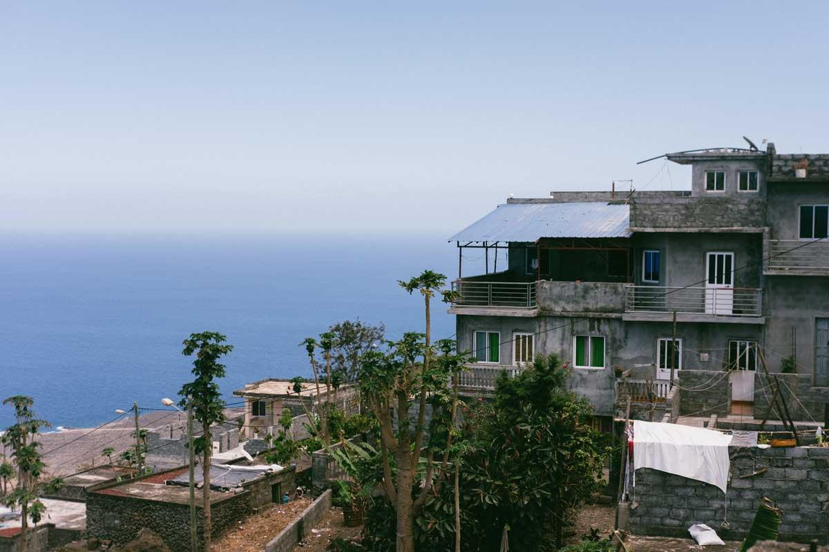 casas da ilha do fogo