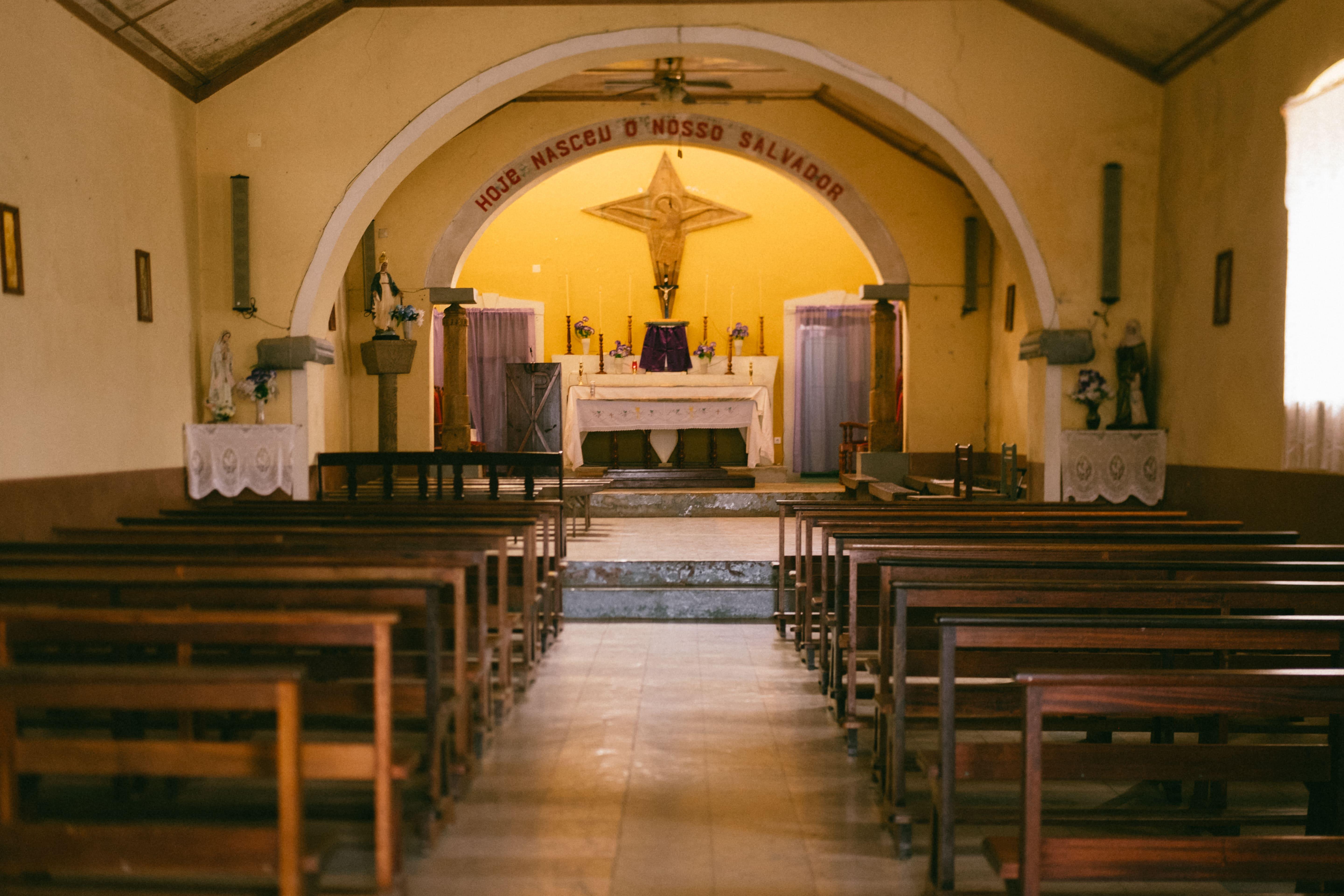igreja em brava cabo verde
