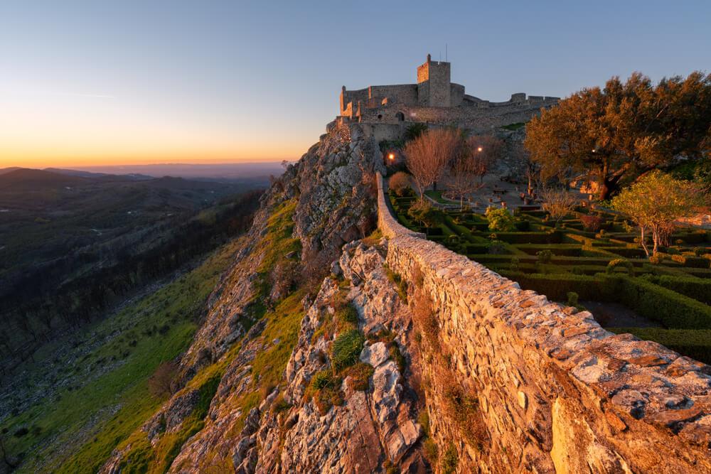 vista panoramica do castelo do marvao