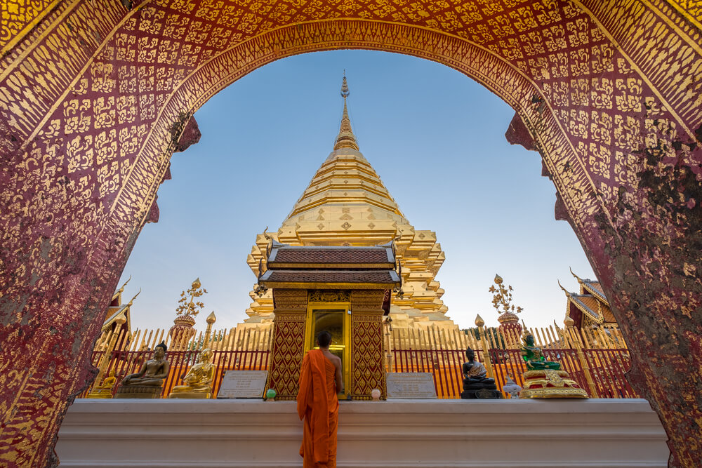 templo de wat phra that doi suthep